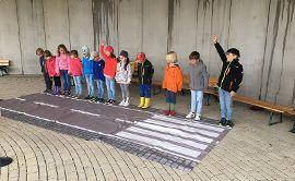 Verkehrstag der Vorschulkinder